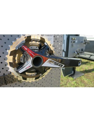 FSA's line-topping K-Force Light carbon MTB crankset weighs 495g