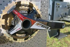 FSA's line-topping K-Force Light carbon MTB crankset weighs 495g