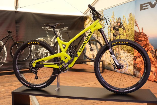 Evil's Insurgent is quite low and slack for a 151mm enduro bike