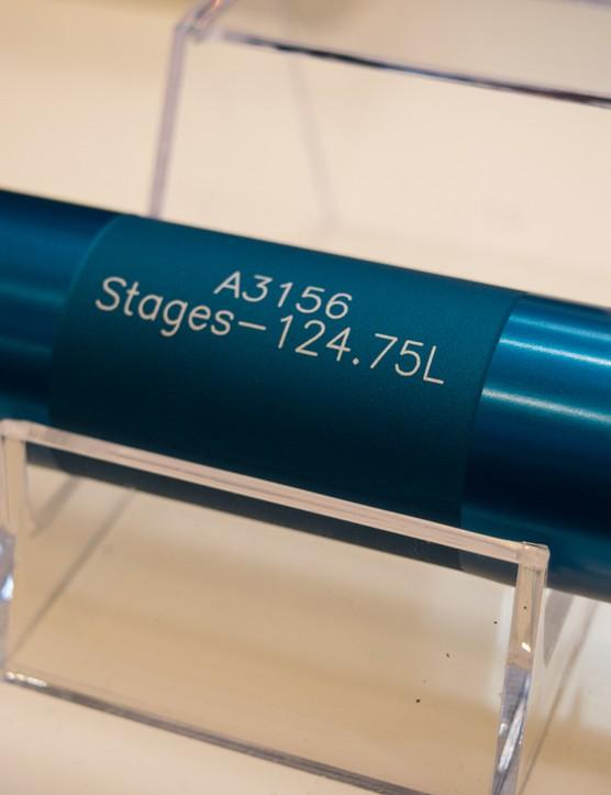 This longest version is for SRAM's 168mm mtb BB30 drivetrains