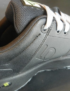 New reinforced lace eyelets help improve overall durability