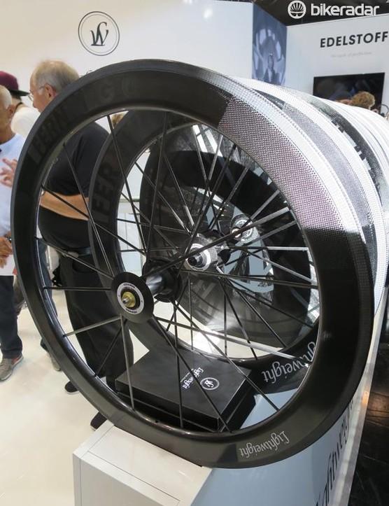 Lightweight's new Fernweg 60 is a front wheel-only option for the Fernweg 80 TT wheelset