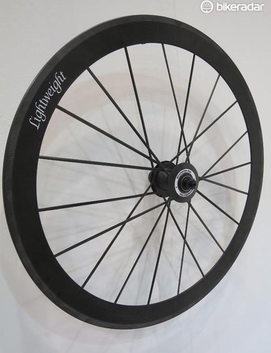The Meilenstein Pro rear wheel is a stiffer lighter version of the standard Meilenstein built in the same unique Lightweight way