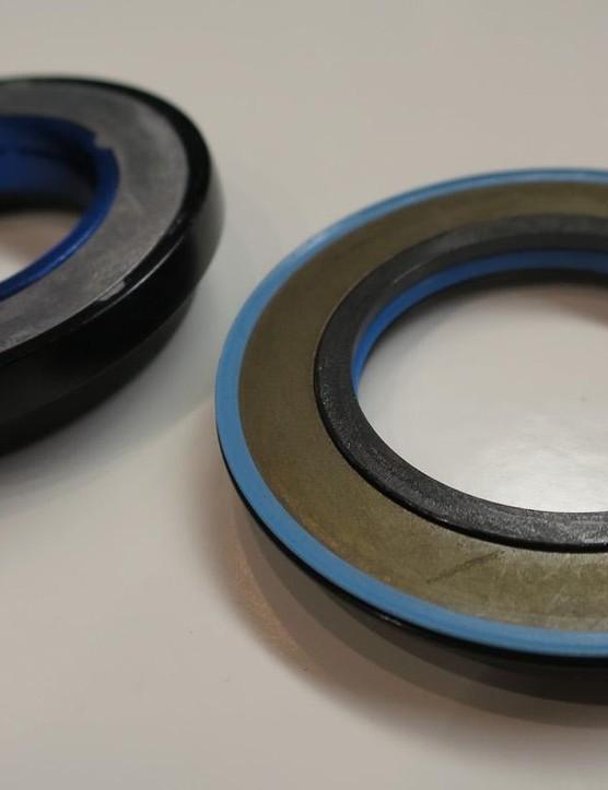 Cane Creek's prototype headset is designed to eliminate speed wobble