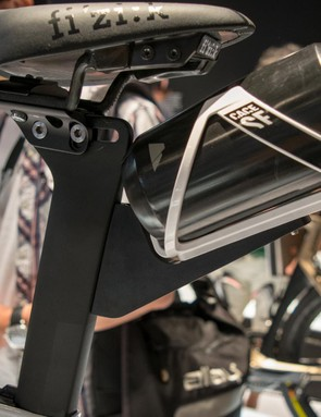 This rear bottle mount is another tri-specific feature