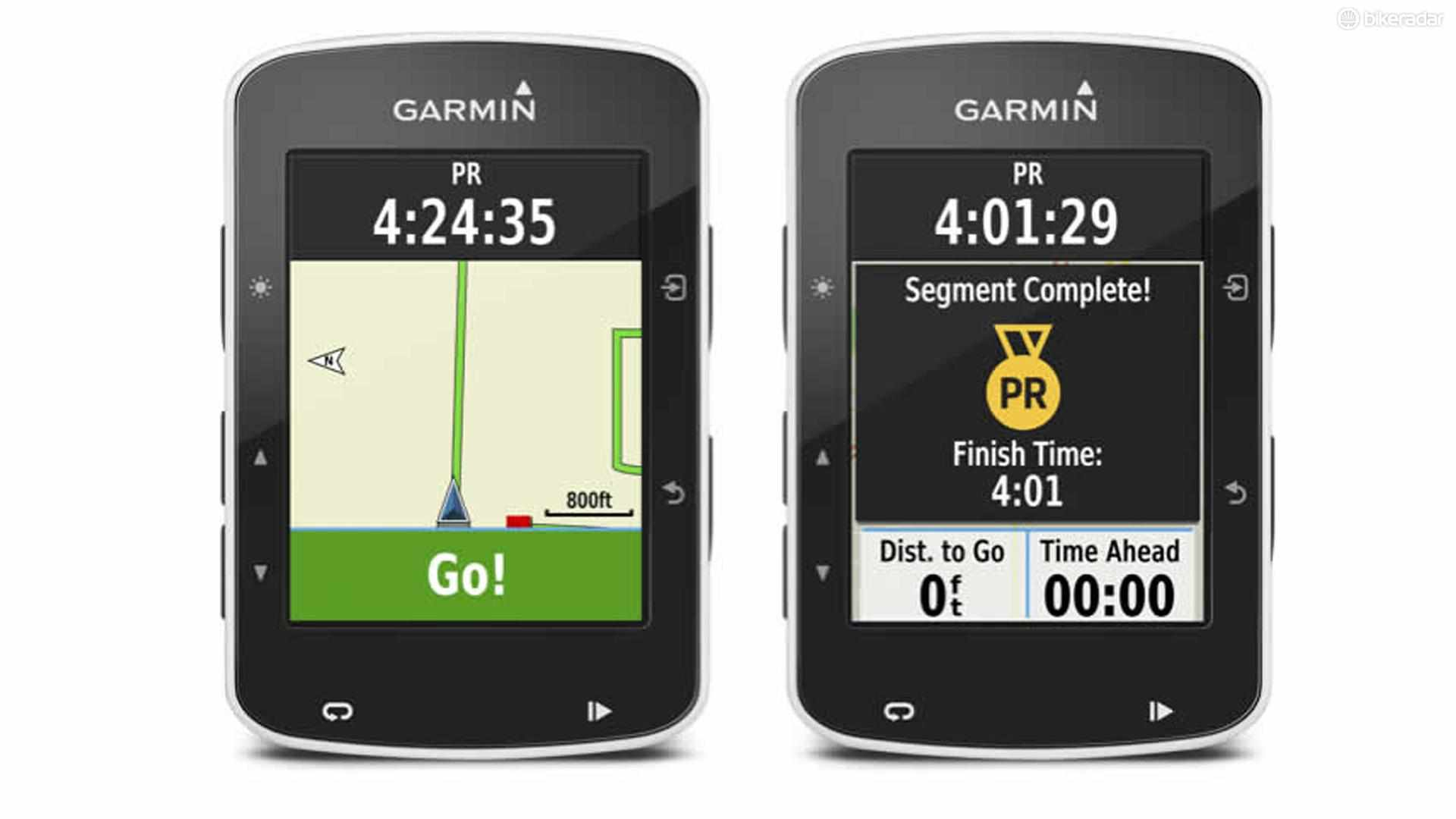 Strava Live segments were first released as a function on the Garmin Edge 520