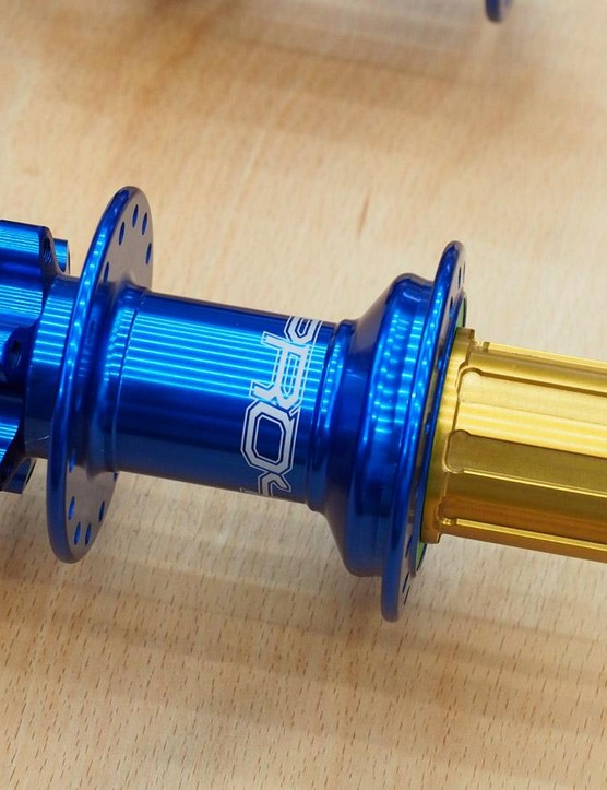 Hope will offer the new Pro 4 hubs in both standard and Boost spacings