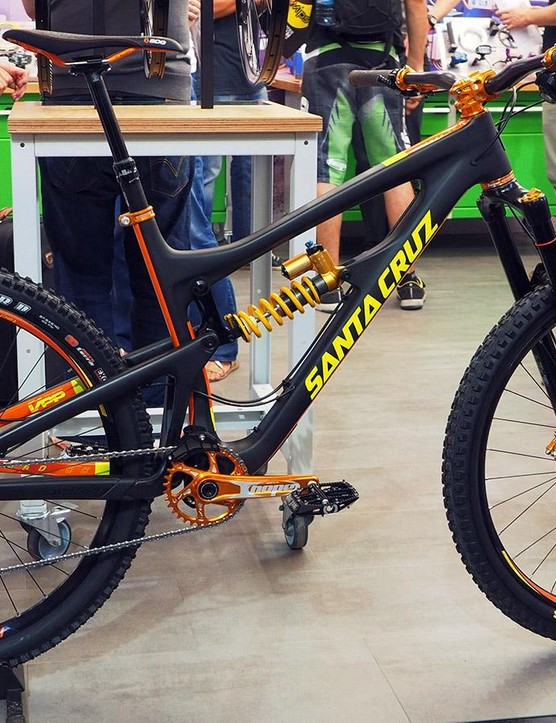 Hope certainly isn't shy about its new orange anodized option