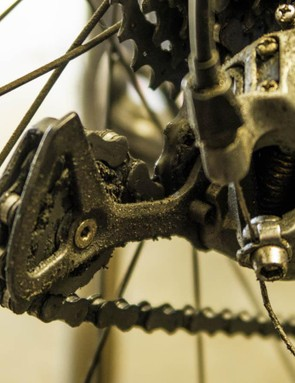 Don't let your derailleurs become a chunk of dirty goop – a clean drivetrain will always work better