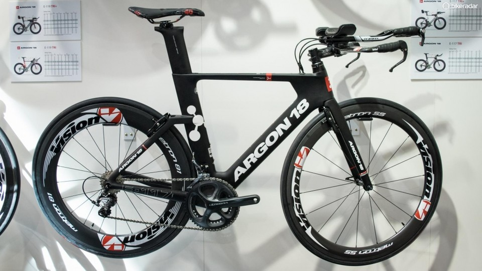 ba1591df359 New Argon 18 E119 Tri 'faster than a Cervélo P5' - BikeRadar