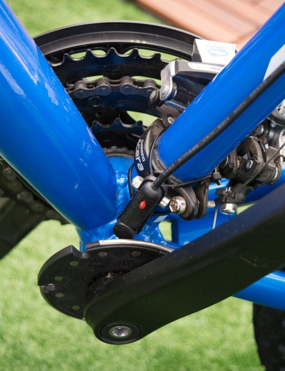 A clip-on sensor means you won't have to take your cranks off to install the system