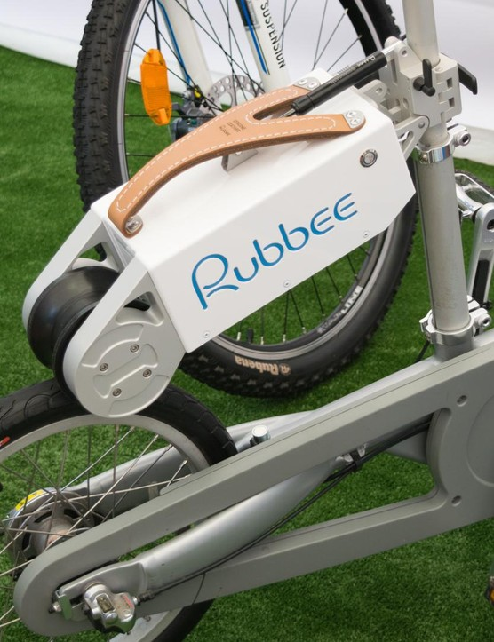 The Rubbee is compatible with wheels ranging from 16-29in