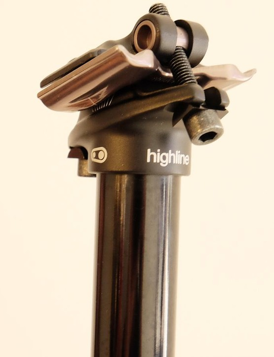 The Highline uses a two-bolt clamp