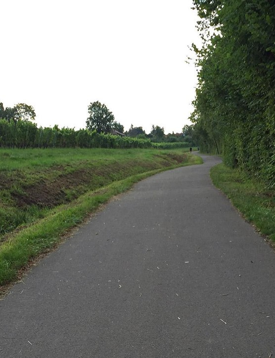 Germany has a fantastic network of dedicated paths and lanes that makes it easy to go by bike