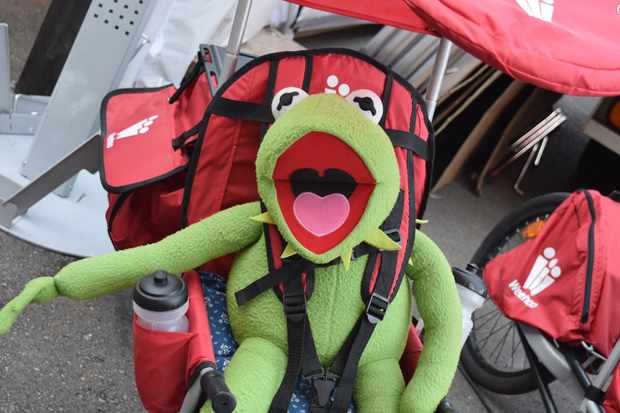 Kermit couldn't quite believe just how weird and wonderful Eurobike 2015 was