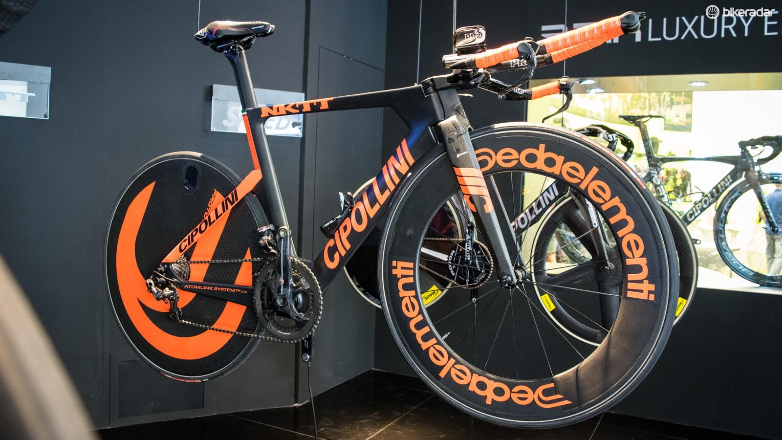 We kick off with Cipollini's stunning NKTT – it's a beauty worthy of the extroverted ex-pro