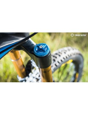 High and low speed compression adjustment is a plus on the 170mm fork
