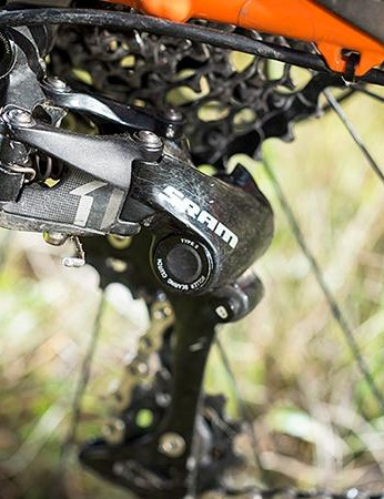 11 Speed SRAM gearing is proven in the mountains