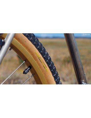 The Specialized Stumpjumper tires are starting to show a bit of dryrot but then again, they're in better shape than many people we know of similar age