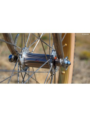 The Phil Wood hubs are also nickel plated