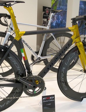 The C60 limiteds come in a slew of different colours – this metallic gold version was easily the most bling