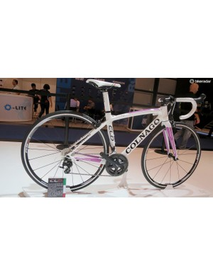 The women's specific CLD is derived from Colnago's previous generation CLX