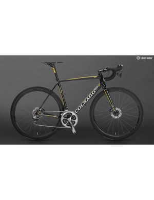 The V1-r disc, one of the new breed of aero disc bikes
