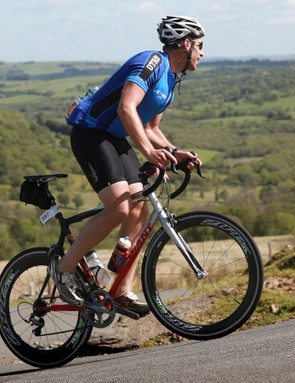 Climbing and stunning scenery: it must be the Dragon Ride