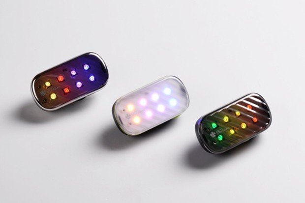 The FAST light is a Bluetooth enabled tail light