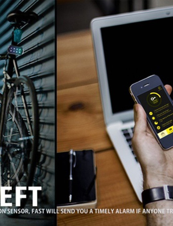 Similar to the upcoming Cycliq Fly12, the FAST light features a bike alarm