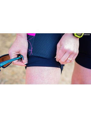 The Mountain Liner shorts use a light compression design rather than silicone grippers. They remained comfortable and in place while riding