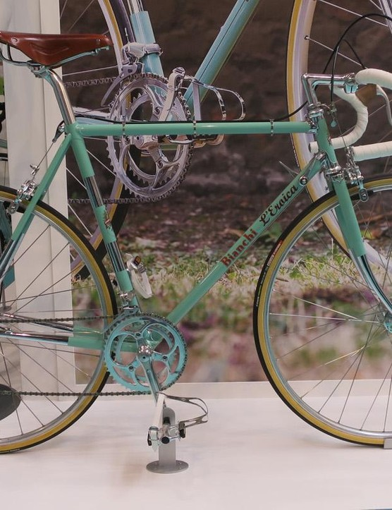 Bianchi's all new, yet old l'Eroica bike is a faithful recreation of a 1970s pro racer