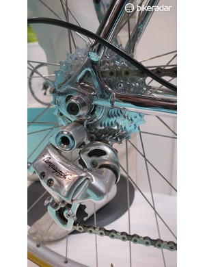 Campagnolo supplies custom derailleurs bearing only the Campagnolo name