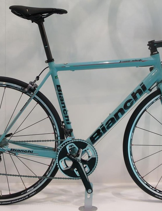 Bianchi has entered the high-end alloy battleground with the new Freccia Celeste