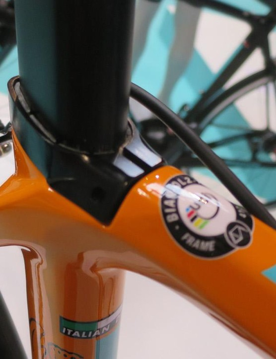 Another angle on the Oltre XR1's striking getup