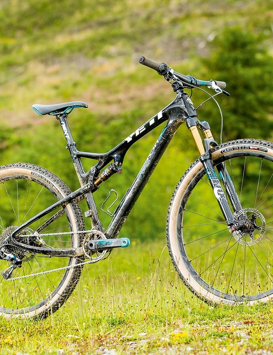 Yeti's ASRc is designed around the natural flex of the frame