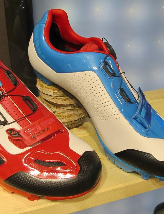 The C:62 shoe is available in a version for XC riders too