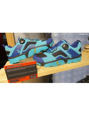 Cube's new All Mountain Pro shoe offers top dial adjustability and a thick shock absorbing clipless compatible Vibram sole for €149.95