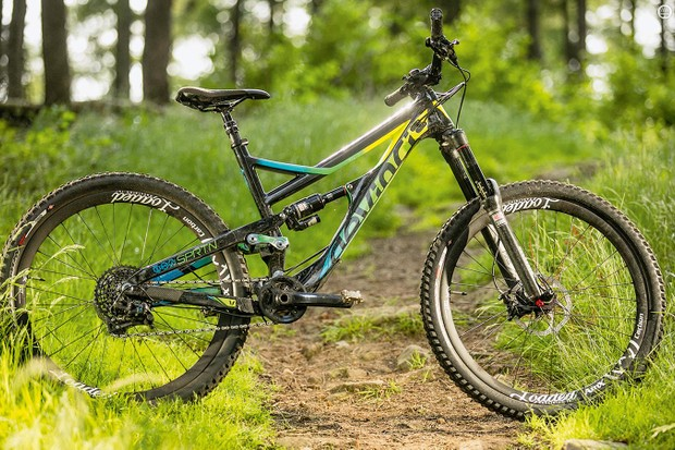 Devinci's Spartan Carbon SX flexes some serious DH breeding
