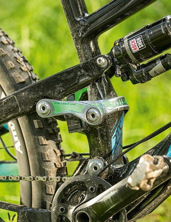 Suspension tune is exceptional downhill but there are pedal kickback woes