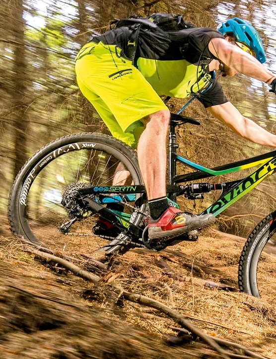 The Spartan is the kind of bike that has you drunk on its capabilities, fast