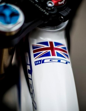 Atherton has already ridden to World Cup domination on this bike: will it bring her the World Championships as well?