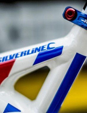 There's nothing quite like having your name emblazoned on your Hope seat post collar
