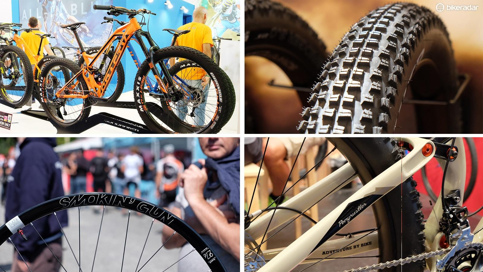 Plus-sized bikes and components steamrolled this year's Eurobike tradeshow