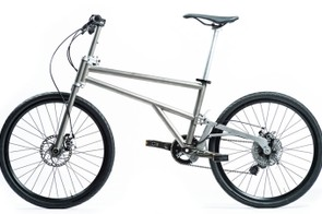 The Helix is a new Titanium frame 24in wheel folding bike, which had quite a successful first day on Kickstarter