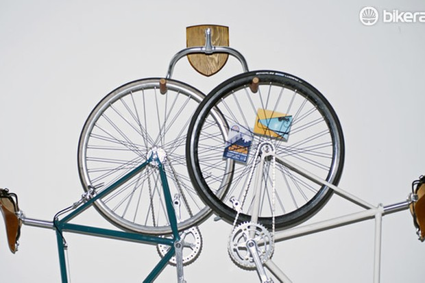 The Bike Hanger, a new product being crowdfunded on Kickstarter, aims to make bike storage decorative as well as functional