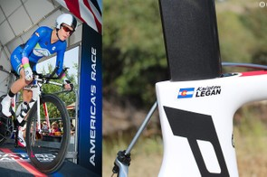 Kristen Legan raced in the inaugural Women's USA Pro Challenge on a composite team, which allowed her to pick her bike and components