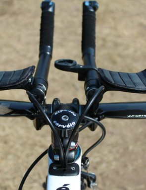 3T and Shimano PRO pieces come together for the cockpit