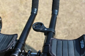 Bar Fly's plastic Garmin mounts are a good solution for many riders