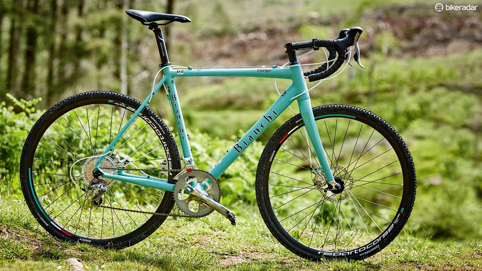Bianchi's Zurigo is very versatile. It has a wide range of gears, and fittings for 'guards, a rear rack and a pair of bottle cages